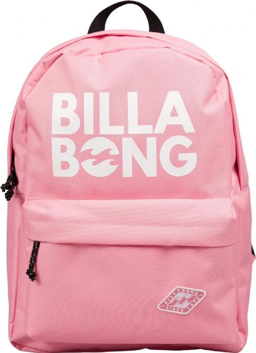 BILLABONG WOMENS BACKPACK.HYDE PINK RUCKSACK BAG.SCHOOL/UNI 22 LITRES 8W 2 2521